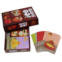 Wholesale Wholesale Paper For Children - Sushi Go Board Game The Pick And Pass Cards Game 2-5 Players Family Game For Children Trading Card Games OOA1839