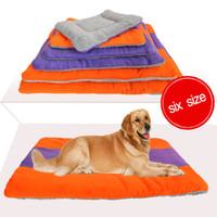 Wholesale Pet Beds For Puppies - Hot Selling Warm Pet Mat, Six size for choose, Cat Dog Puppy Fleece Soft Blanket Bed Cushion