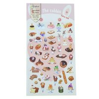 Wholesale Fairy Stationery - Wholesale- 1 Pc   Pack Daisyland The Rabbit Fairy Tale Diary Gallery Stationery Letter Decorative Paper Sticker Decoration