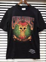 Wholesale T Shirt Bad - 2017 Fear Of God Guns And Roses Bad Apple Resurrected Vintage Skull Graphic Spring Summer Short Sleeve Cotton T-shirt Tee