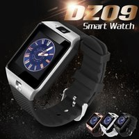 Wholesale Wrist Watch Packaging - DZ09 Smart Watch Bluetooth Smartwatches Dz09 Smart watches with Camera SIM Card For Android Smartphone IOS with Retail Package