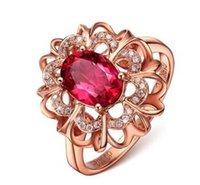 Wholesale Diamond Ring Vs1 - 1.25 Ct D VS1 Round Cut Diamond Solitaire Engagement Ring 14K Rose Gold