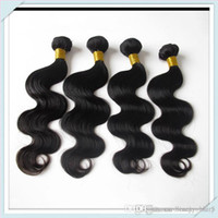 Wholesale Sexy Under Ladies - Muse Hot Sale:100 Brazilian Human Hair Extension nature Body Wave Hair Weaving 50g piece 8pcs lot Free Shipping DHL Be Sexy Lady