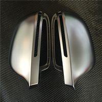 Wholesale Audi A4 B8 Chrome - Car Chrome Rearview Mirror Shell For Audi A4 B8 A3 8P A6 C6 Q3