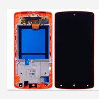 Wholesale Google Nexus Screen Replacement - For Google Nexus 5 New LCD Display With Touch Screen + Red Color Frame Replacement FOR GOOGLE NEXUS5