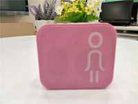 Wholesale Square Usb Color - Sell like hot cakes on the new SLC 006 wireless bluetooth speakers Many tiny square mini portable color card speakers 1.5hours bworking time