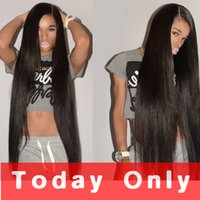 Wholesale brazilian unprocess - 10A Unprocess Brazilian Straight Virgin Hair Human Hair 3 Bundles Peruvian Malaysian Indian Cambodian Brazillian Wavy Remy Hair