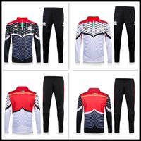 Wholesale Football Nation - Thai Palestine nation team tracksuit jacket 2016 17 Palestinia Survetement Football shirt Training clothes coat chandal sports Rugby jerseys