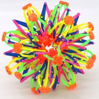 Wholesale Telescopic Ball - Variety of magic ball Telescopic hand grasping the ball scattered flower ball children's toys wholesale funny
