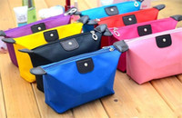 Wholesale Wholesale Canvas Travel Bags - candy Cute Women's Lady Travel Makeup Bags Cosmetic Bag Pouch Clutch Handbag Hanging Toiletries Travel Kit Jewelry Organizer Casual Purse