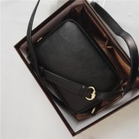 Wholesale Leather Woman Camera Bag - Women Handbag messenger bag crossbody Cellphone case camera Genuine leather brand designer luxury famous high quality