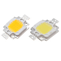 Wholesale 10W LED Chip High Power Super Bright COB Spot LED Lamp Chips Light Bulb Lamp Diode Pure Warm White V