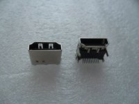 Wholesale Hp Connectors - 10pcs New Replacement HDMI Female Jack   PCB Socket Connector   19P HDMI Port for Asus Lenovo HP Samsung Etc Laptop Motherboard