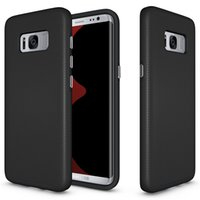 Custodia anti-skid TPU + PC Cell Phone per Samsung Galaxy S8 S8 più copertina di copertina