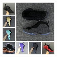 Wholesale pro running - Wholesale discount One wool Royal blue red Men Basketball Shoes blue red faming air Pro running trainers sports running Sneakers size 8-13