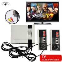 Wholesale Vintage Building - Mini Vintage Retro TV Game Console Classic 620 Built-in Games 2 Controllers For NES Games dual game pad