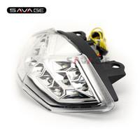 Wholesale Kawasaki Kle - For KAWASAKI KLE 650 VERSYS 2010-2014 Motorcycle Integrated LED Tail Light Brake Turn signal Light Assembly
