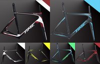 Wholesale Time Carbon Fibre Bike Frames - 2015 TIME skylon Road bike frame with BB386 carbon fiber bicycle frame superlight frame TIME skylon