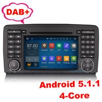 Wholesale Mercedes Benz R W251 - Android 5.1 Car Stereo GPS SAT NAV Mercedes Benz R-Class W251 R280 R320 Stereo Radio 3G Wifi DAB+ Mirror Link