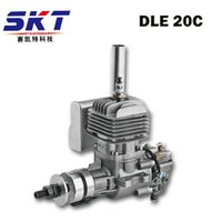 Wholesale Gas Engine Rc Model - DLE 20 20CC original GAS Engine Gasoline 20CC Engine For RC Airplane model hot sell,DLE20CC,DLE20