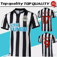 Wholesale Soccer Jersey Customized Yellow - New Newcastle United home Soccer Jersey 17 18 Newcastle United Soccer Shirt 2018 Customized football uniform 2017Sales