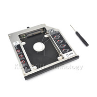 Aluminum ssd ibm - SATA to Sata nd HDD Caddy Tray Hard Drive mm SSD Case Enclosure Optibay for IBM Lenovo Thinkpad R500 T420 T430 T520