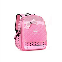 Wholesale Children Bag China - Shipping From Russia or China Mochilas Schoolbag 2015 Bow Children School Bag Mochila Infantil For Girls Backpack Kids Book Bags