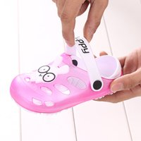 Wholesale Animals Slipper For Kids - Unique Panda Summer Beach Clogs Hello Kitty Rabbit Little Boys Kids Shoes For Girl Baby Boy Children Shoes Girls Garden Slippers