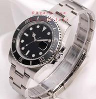 Wholesale Super Price - Special offer price Men's Limited Editio Super Date Ceramic 116610LN 116610 Black Ceramic Wristwatch Dive Sport Calendar Wristwatch box