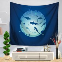 Ocean Series Tapestry Mermaid Turtles Tapices para colgar en la pared Boho Colcha Toalla de playa Yoga Mat Blanket Table Cloth