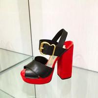 Wholesale Shoes Pump Platform Velvet - New Arrival High Heel Sandals For Women Luxury Velvet High Platform Crossing Belt Pumps Chunky High Heel Shoes Lady