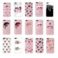 Wholesale Apple Iphone5 Cell Phone - Newest Top-Quality Kylie Jenner Cell Phone Case 19 Colors Photo Soft TPU Clear Cases For Iphone 7 7Plus Iphone 6s Plus Iphone5 5s