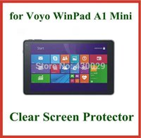 Wholesale Winpad Tablet - Wholesale- 10pcs Clear LCD Screen Protector Protective Film for Voyo WinPad A1 Mini 8 inch Tablet PC No Retail Package