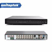 Wholesale 16ch Dvr System - 16 Channel AHD DVR 1080P 16CH AHD CVI TVI DVR 1920*1080 2MP CCTV Video Recorder Hybrid DVR NVR 5 In 1 Security System