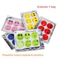 Wholesale Child Repellent - Natural Plant Essential Oil Powerful Insect Repellent Anti-mosquito Stickers Non-toxic Non-chemical Pesticides Adults And Children Can Use.