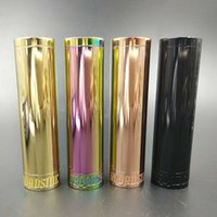 Vaporizer Broadside Mod 4 Farben Magnetic Firing Button fit 18650 Akku für 510 Atomizer Broad Side E Zigarette DHL frei