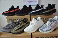 Mesh original blue - With Original box SPLY Boost V2 all With Box Black Grey Orange Running Shoes Sneakers Boost V2 woman man shoes us