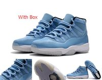 Wholesale Suede Gift Boxes - Wholesale Air Retro 11 Ultimate Gift of Flight Basketball Shoes sneakers Free shipping Men size with Box