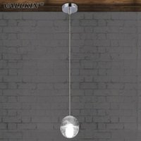 VALLKIN® Dimmable LED Crystal Chandelier Lighting Pendentif Lampes Lampes Accessoires Villa Duplex Plafonnier Acier inoxydable Cristal clair