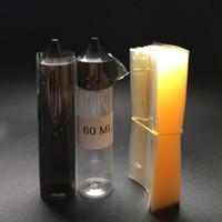 Wholesale Pet Stamps - Fast Shipping Heat Shrink Wrap PVC film for e liquid bottle pet chubby unicorn bottle 60ml