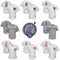 Wholesale Cheap Authentic Cool Base Jersey - Cheap Derek Jeter Retirement Patch Jersey 2 Derek Jeter New York Yankees Cool Base Flex Base Authentic Baseball Jerseys S 4XL
