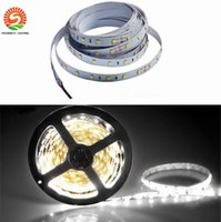 Tira Ligera Llevada Brillante Impermeable Baratos-500M 500 metros rojo bule amarillo verde blanco cálido LED tira de luz 5M Supler brillante 3528 SMD impermeable IP65 flexible 300 leds DC 12V a través de DHL
