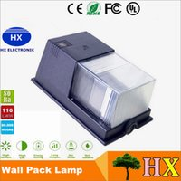 10W Led Wall Pack Remplacer 40W 80W 100W Lampe aux halogénures métalliques Lampes murales LED IP65 30W 20W Led Mini Wall Outdoor Lighting 110-240V