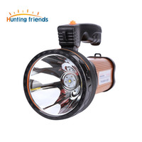 Wholesale Hunting Light Bulbs - NEW Brand Hunting Friends LED Flashlight Super Bright Portable Light Rechargeable Flashlight Torch Powerful Seacrchlight for outdoor