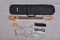 звезда электрогитара оптовых-На складе-Mini star Folkstar travel электрогитара с сумкой для переноски, мини-портативная бесшумная гитара, Оптовая торговля