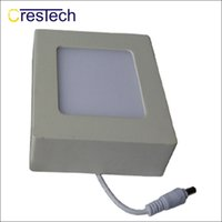 bebek tavan toptan satış-6 W 12 W 18 W 23 W Ince LED paneli ışık kapalı tavan lambası ev mutfak yatak odası bebek odası için tuvalet