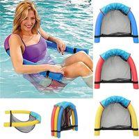 pool großhandel-Kreative Nudel-Schwimmen-Sitz-Pool-schwimmendes Bett-Erholungs-Stuhl-Wasser-erstaunliches sich hin- und herbewegendes lustiges multi Farben-gelegentliche Farbe