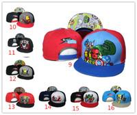 Wholesale Cheap Snapbacks For Boy - US FASHION Tokidoki Caps 26 Styles TKDK Adjustable Hats Snap Back Hats Cheap Hip Hop Cap Fashion Snapback Hats for Girls and Boys Top Hat
