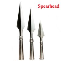 spear head - Stainless steel spear head wushu performance kungfu