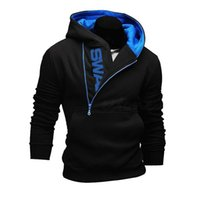 Wholesale Men S Slim Stylish Coat - Fashion-Stylish Men€s Slim Warm Hooded Sweatshirt Zipper Coat Jacket Outwear
